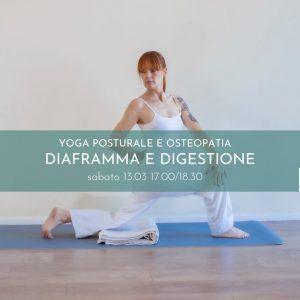 Yoga Posturale – MASTERCLASS DIAFRAMMA E DIGESTIONE